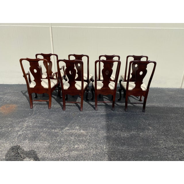 2000 - 2009 Aston Court by Henredon Chairs - Set of 8 For Sale - Image 5 of 9