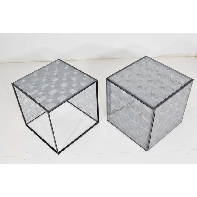 Lens Side Tables by Patricia Urquiola for B & B Italia - a Pair For Sale In Dallas - Image 6 of 9