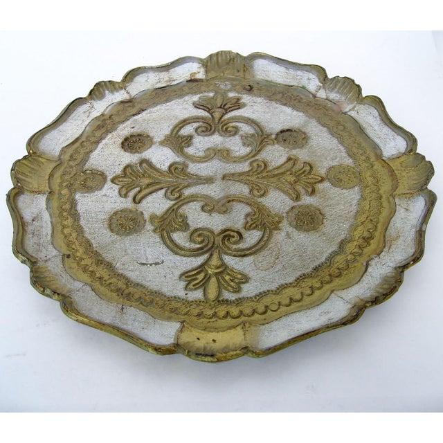 Florentine Wood Tray - Image 3 of 6