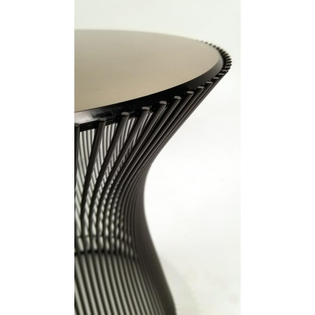 Knoll Early Bronze Side Tables by Warren Platner for Knoll, 1966 - a Pair For Sale - Image 4 of 9