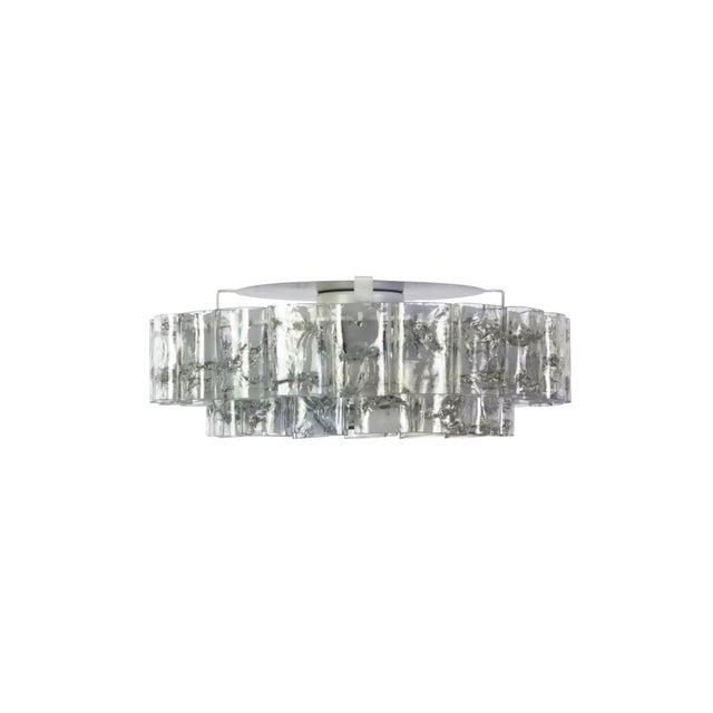 Mid-Century Modern Mid-Century Modernist Doria Flush Mount For Sale - Image 3 of 10