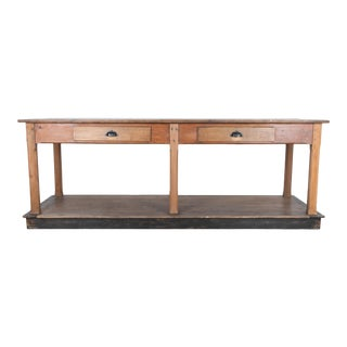 Late 19th Century French Drapers Table For Sale