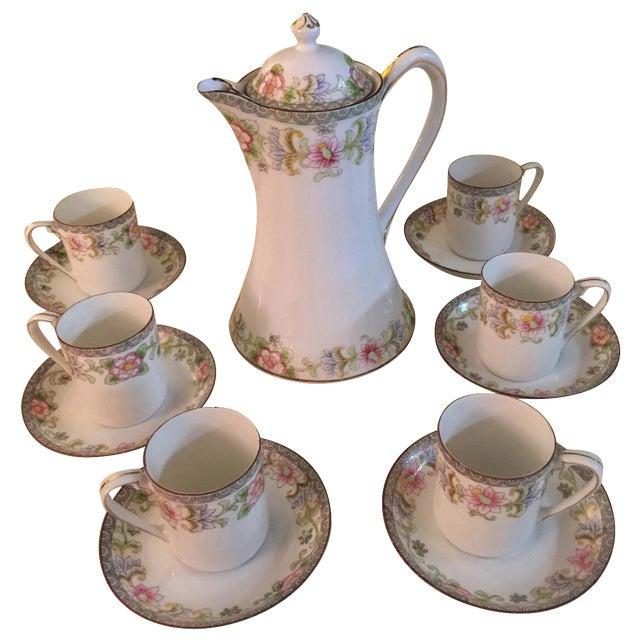 Porcelain Demitasse - Set for 6 - Image 1 of 6
