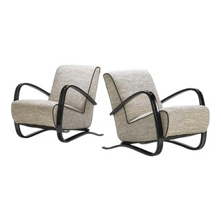 Jindrich Halabala Lounge Chair For Sale