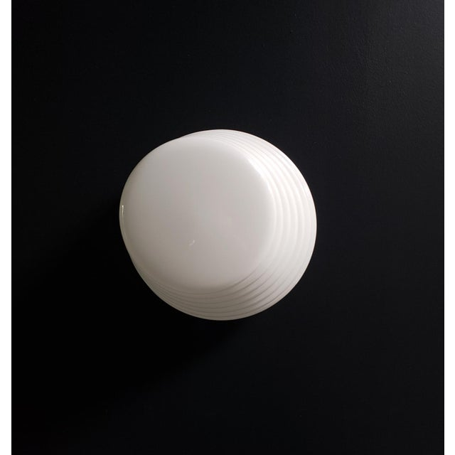 """Leucos Italian Modern """"Coban"""" Glass Wall Sconce by Leucos For Sale - Image 4 of 10"""