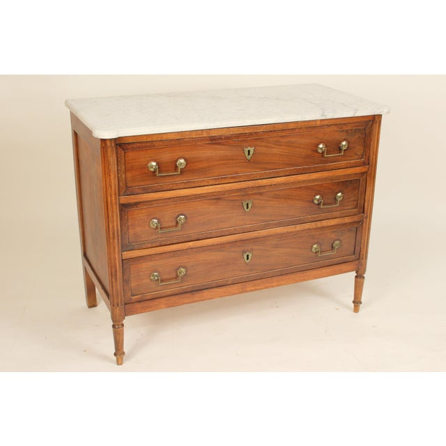 19th Century Louis XVI Style Chest of Drawers For Sale - Image 13 of 13