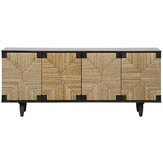 Brook 4 Door Sideboard, Pale For Sale