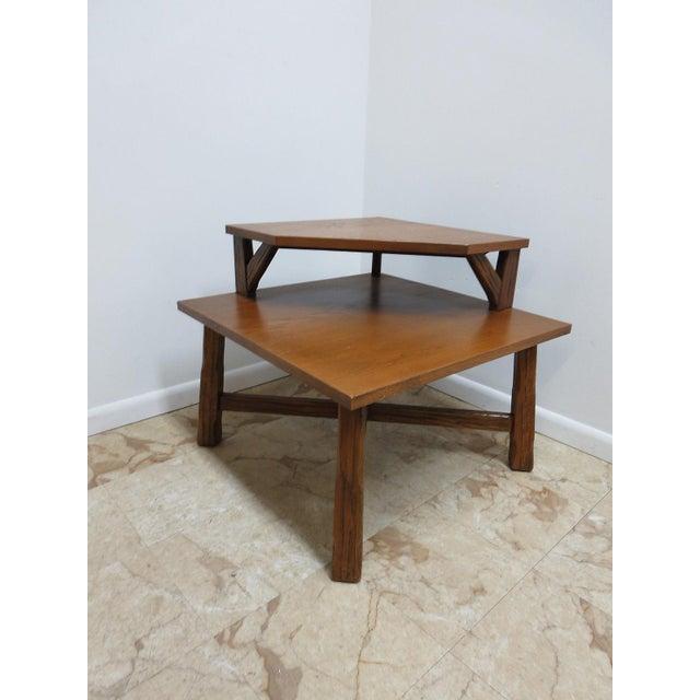 Brandt Ranch Oak End Table For Sale - Image 11 of 11