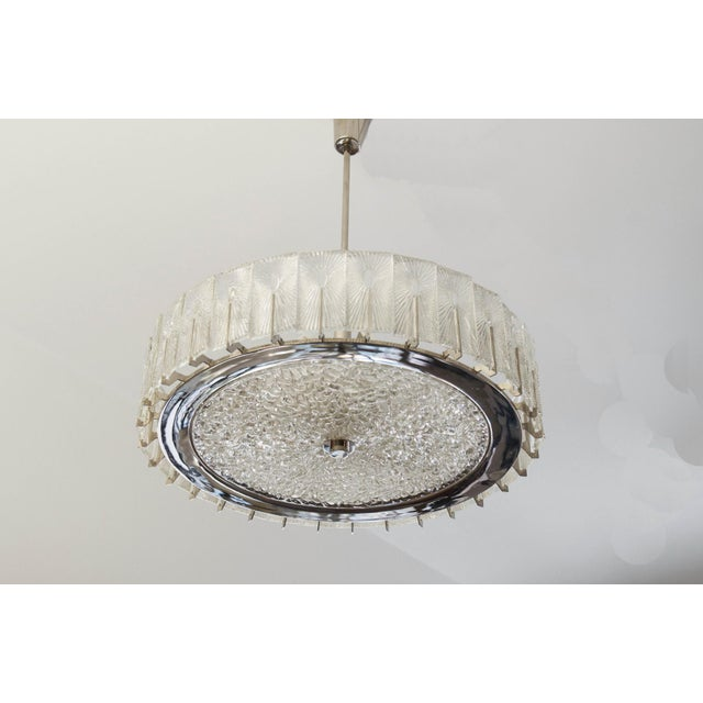 1950s Large Austrian Chandelier by Rupert Nikoll, 1950s For Sale - Image 5 of 11