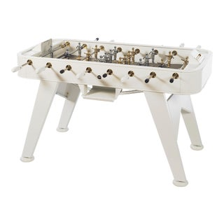 RS Barcelona Gold Foosball Table, White For Sale