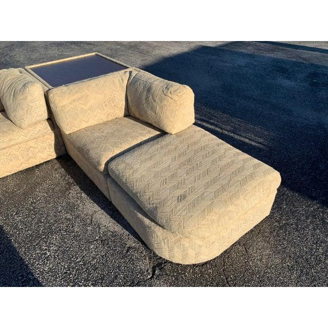 Milo Baughman 1970s Milo Baughman Sectional Sofa for Thayer Coggin For Sale - Image 4 of 13