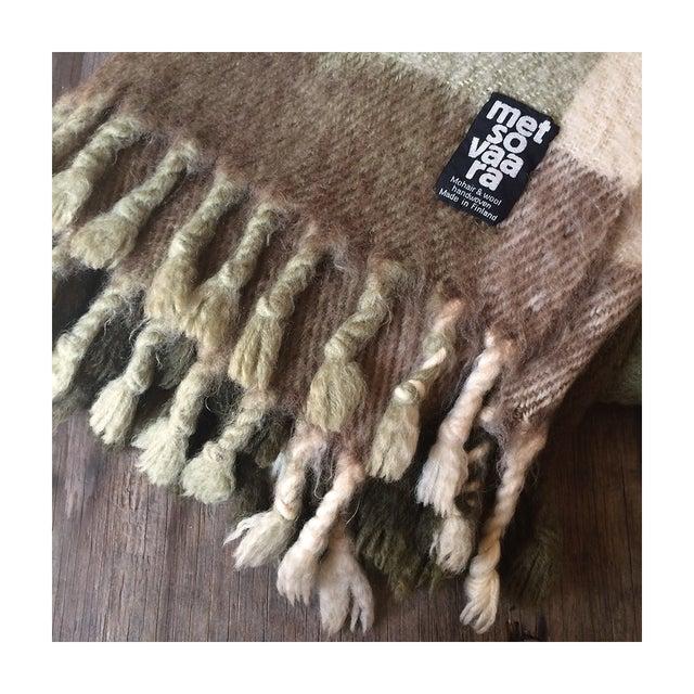 Metsovaara Scandinavia Wool Mohair Blanket For Sale In Los Angeles - Image 6 of 6
