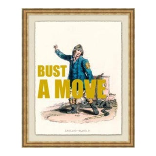 """""""Bust a Move"""" Framed Print by Jo Sampson For Sale"""