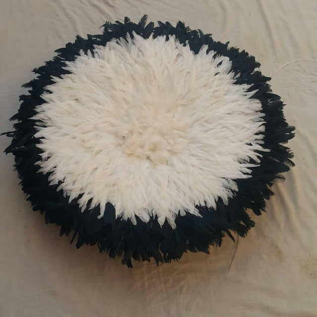 Black & Ivory Juju Hat - Image 2 of 3