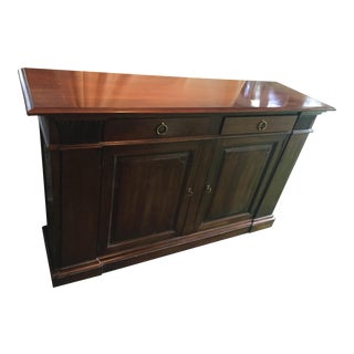 Henreden Vintage Walnut Buffet / Console or Cabinet For Sale