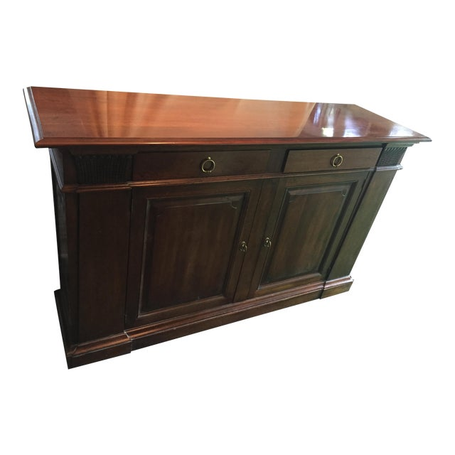 Henredon Walnut Buffet ,Console or Cabinet For Sale