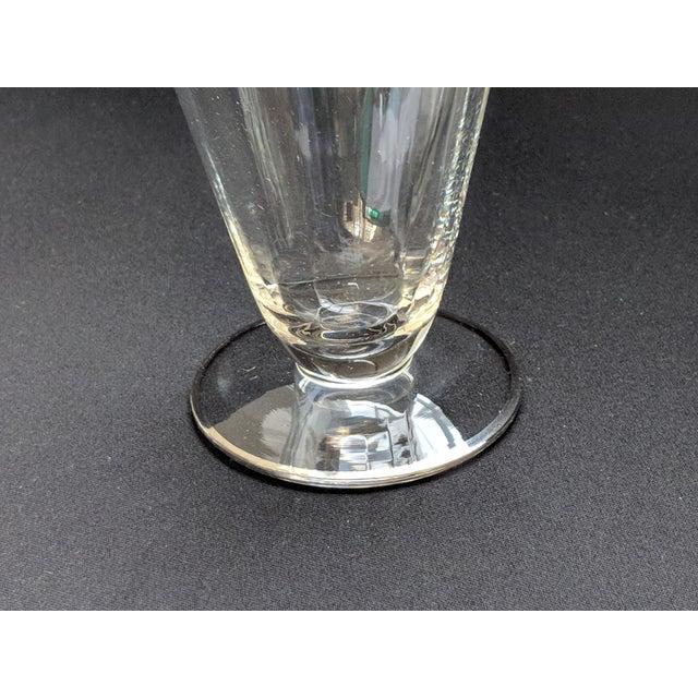 Silver Embossed Dessert Glasses – Set of 6 For Sale - Image 10 of 11