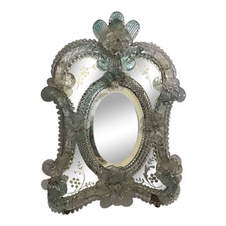 Italian Vanity Table Mirror Small Last Call For Sale