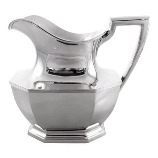 Sterling Queen Anne Water Pitcher For Sale