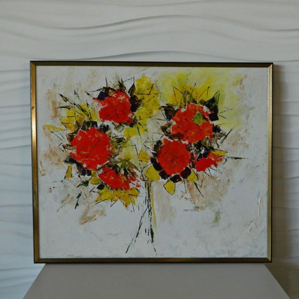 Sara Masterson Flowers Painting - Image 2 of 3