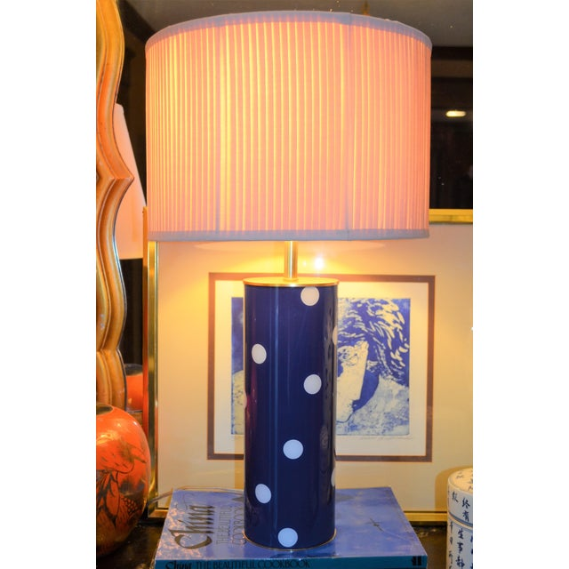 Kate Spade Blue Dot Table Lamp - Image 6 of 6