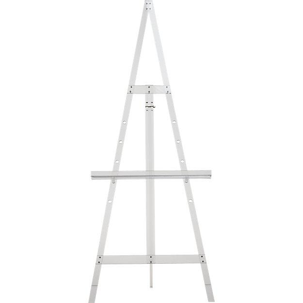 2020s Cb2 Acrylic Tripod Easel For Sale - Image 5 of 5