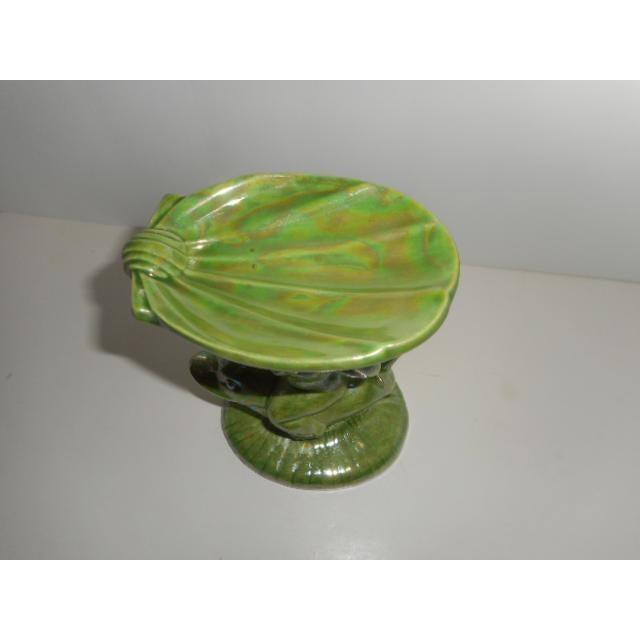 Porcelain Glazed Cupid Ring or Soap Dish - Image 4 of 6