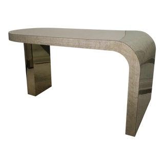 Sculptural Desk Designed by Milo Baughman for Thayer Coggin For Sale