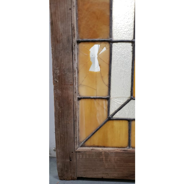Large Late 19th Century Stained Glass Window Panel C.1880 For Sale In San Francisco - Image 6 of 12