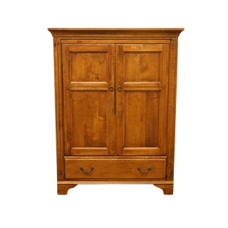 20th Century Country Ethan Allen TV Media Cabinet Armoire For Sale