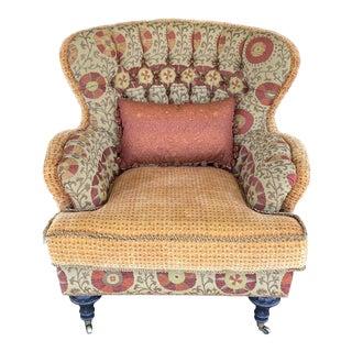 Ej Victor Carol Hicks Bolton Custom Arm Chair For Sale