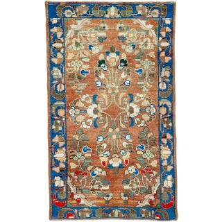 "Vintage Persian Malayer Rug – Size: 2' 1"" X 3' 5"" For Sale"