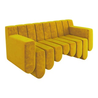 Sound Sofa by Artist Troy Smith - Contemporary Design - Custom Furniture - Limited Edition For Sale