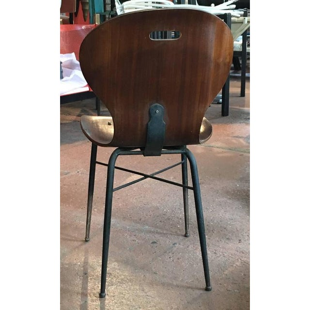 Avantgarden Rare Carlo Ratti Molded Plywood Dining Chairs, 12 Available For Sale - Image 4 of 6