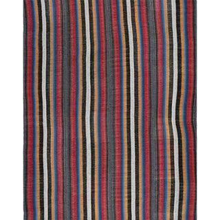 Traditional Flatweave Persian Kilim Tribal Rug - 10′9″ × 14′8″ For Sale