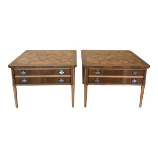 Mid Century Modern Lane Furniture End Tables For Sale