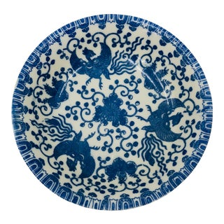 Blue & White Porcelain Dish