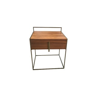 Asian Modern Fond Nightstand For Sale
