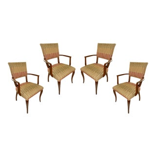 Century Furniture Tribeca Dining Armchairs - Set of 4 For Sale