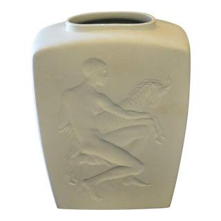 Siegmund Schutz Royal Berlin Kpm Art Deco Vase For Sale