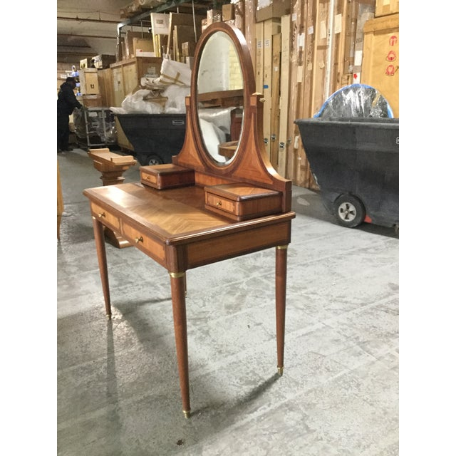 1930s French Art Deco Dressing Table For Sale - Image 4 of 7