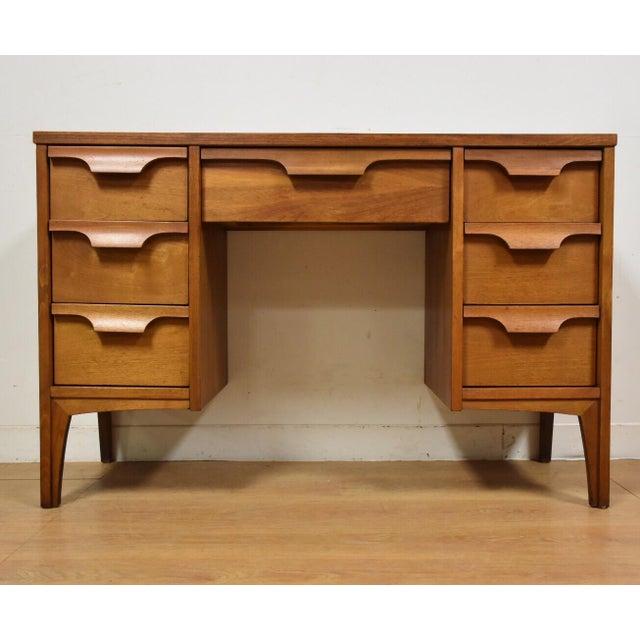 Johnson Carper Walnut & Formica Desk - Image 2 of 9