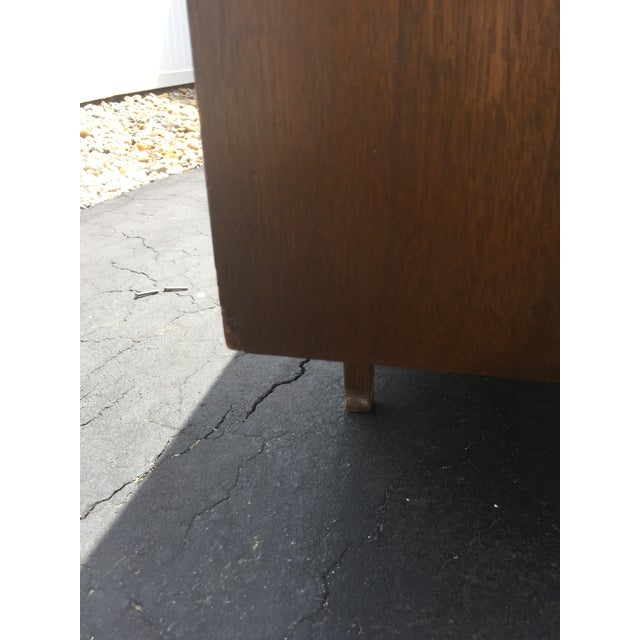 Red Lion Co Mid-Century Dresser & Mirror For Sale - Image 5 of 9