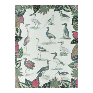 Kenneth Ludwig Chicago Birds of a Feather Throw For Sale