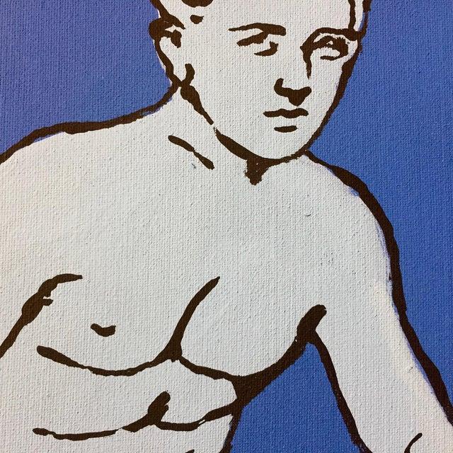"Patrick Moya ""Mercure Bleu"" Acrylic, France For Sale In New York - Image 6 of 10"