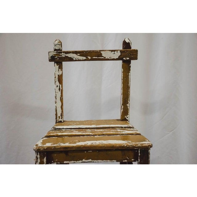 French Vintage Child's Chair For Sale - Image 3 of 13