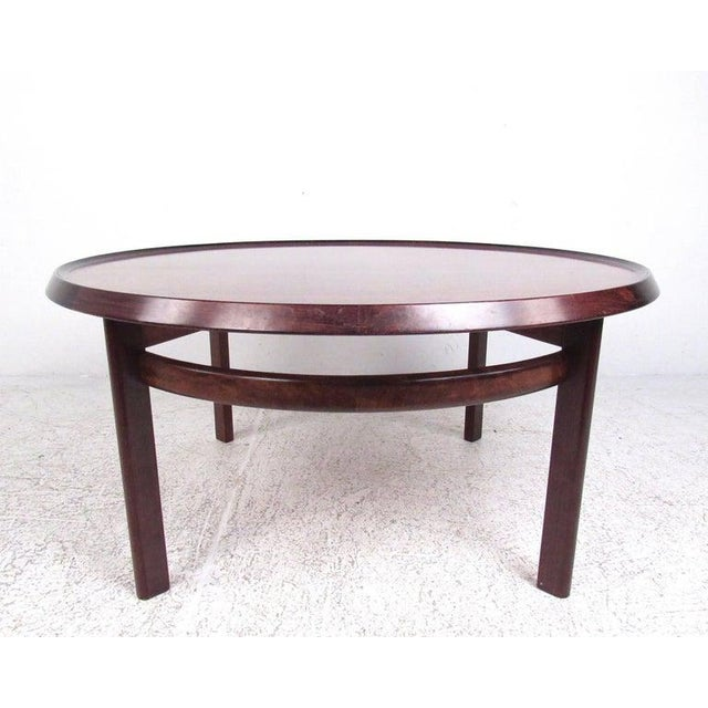 Danish Modern Vintage Scandinavian Rosewood Coffee Table by Haug Snekkeri for Bruksbo For Sale - Image 3 of 13