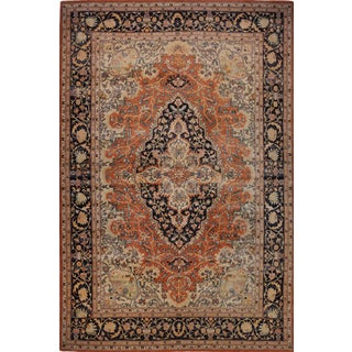 "Hand-Woven Persian Farahan Style Egyptian Rug - 10' X 15'4"" -- 108779 For Sale"