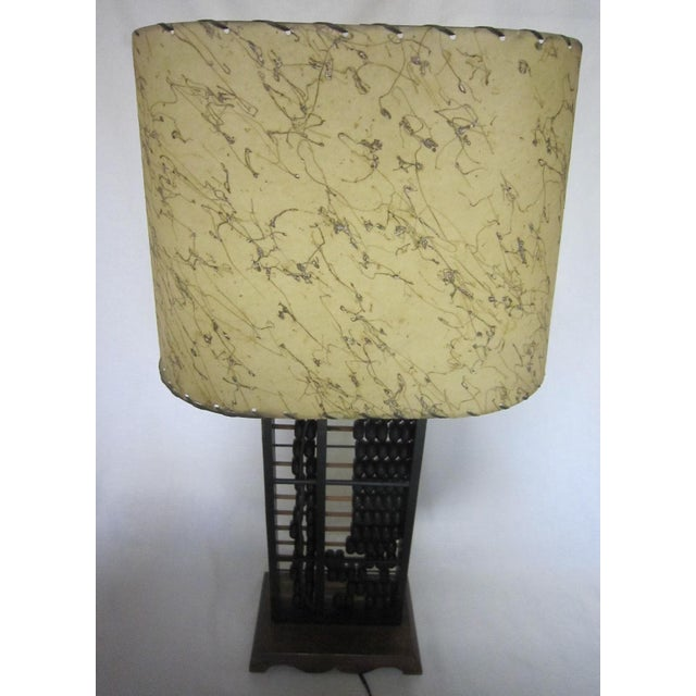 Abacus Table Lamp For Sale - Image 4 of 6