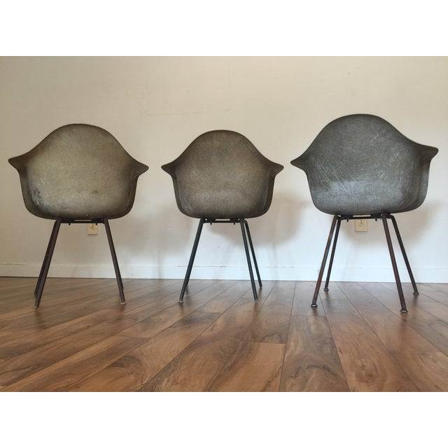 Eames Shell Arm Chairs - Set of 3 - Image 6 of 10